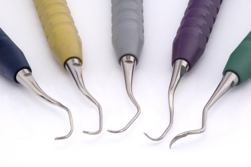 Küretten-Behandlungsenden für jede Zahnform
